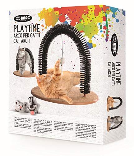 Imac TIRAGRAFFI Arco Playtime - Arco per Gatti