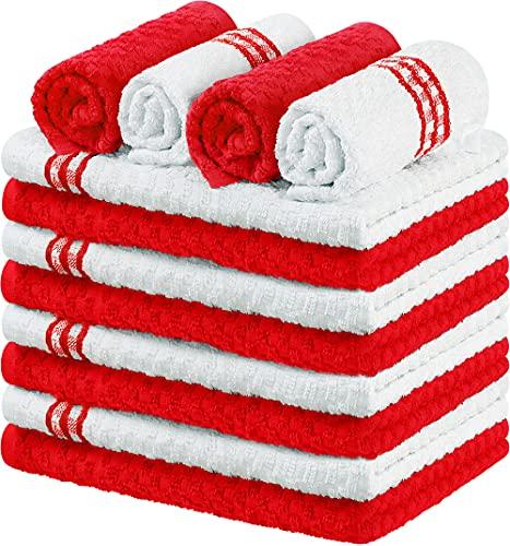 Utopia Towels - 12 asciugamani da cucina - 100% cotone...