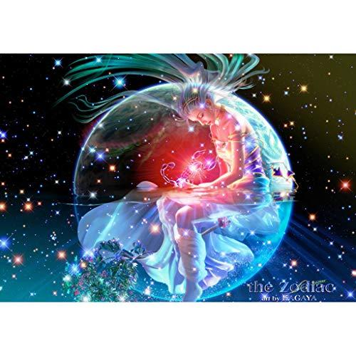 WUJINJPerfecto Y Novedoso Adulto 1000 Piezas Rompecabezas De Madera Personalizado Juguete Educativo para Niños Regalo Cumpleaños Doce Constelación EscorpioWUJINJ(Size:1000PC)