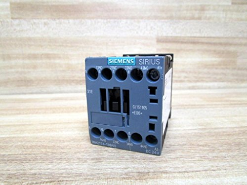 Siemens - Contactor auxiliar 3na+1nc corriente continua 24v s00 tornillo