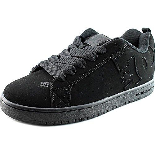 DC Court Graffik - Zapatillas de skate para hombre (8.0 D(M) US), color negro y negro