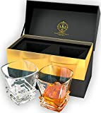 Premium Quality Whiskey Glasses. Genuine Lead Free Crystal Glasses Designed In Europe. In Stylish...