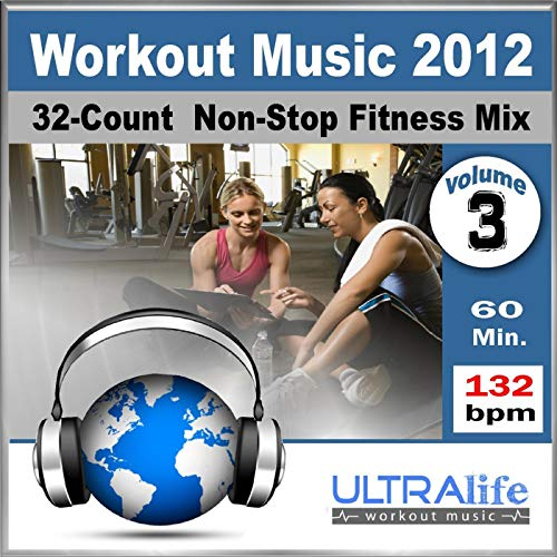 Workout Music 2012 Vol.3 - Top New Fitness Re-Mix for Group Exercise, Running, Kickboxing & Cardio (132 Bpm) [Non-Stop]