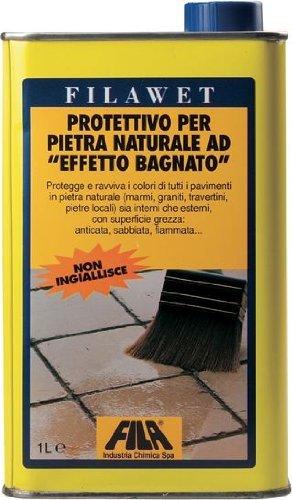 Protección para el arte efecto impermeabilizante Wet Stone Row. Filawet ...