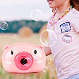 Mixen Automatic Funny Cartoon Pig Bubble Camera Children Soap Bubble Maker Toy Gifts for Kids