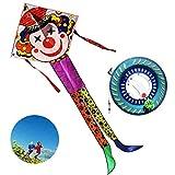 Cometa Cometa Happy Clown Cometa Infantil Cometa De Dibujos Animados Cometa Grande para...