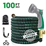 Best Garden Hoses - CCBETTER 100ft Garden Hose, Upgraded Leak Proof Lightweight Review