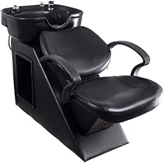 Polar Aurora New Backwash Barber Chair Shampoo Bowl Sink Unit Station Spa Salon Equipment