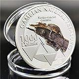 Moneda Conmemorativa de ebaywish Moneda Conmemorativa de cocodrilo Animal Africano del Amazonas