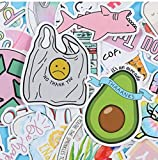 DSSJ Pegatinas de Color pequeñas y Frescas para Maleta, Pegatinas de Graffiti, Impermeable, extraíble, Maleta con...
