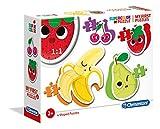 Clementoni- My first Puzzle Progresivo Frutas, Multicolor (20815) , color/modelo surtido
