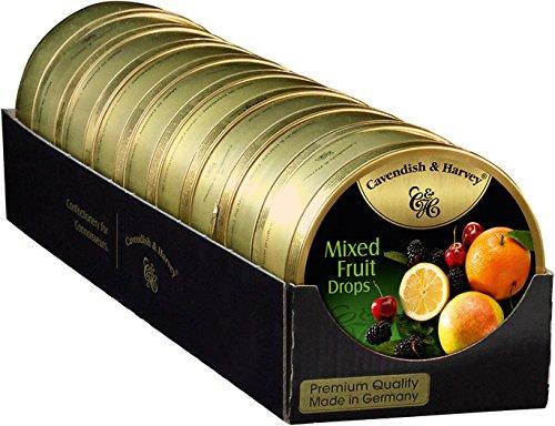 Cavendish BLIK MIXED FRUIT DROPS 9 x 200 gram