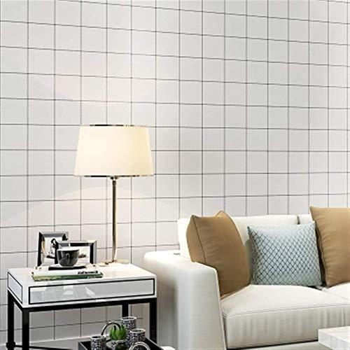 XIAOTIAN Rollo de Papel Tapiz Impermeable PVC Vinilo Autoadhesivo Autoadhesivo para la Cocina Backsplash Tile Baño Sala de Estar Dormitorio Dormitorio Decoración de la Pared Papel de Pared