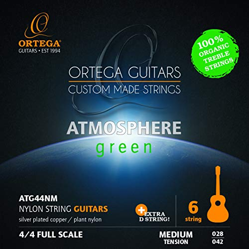 Ortega Classic Strings Medium Tension - Atmosphere Green - Extra D