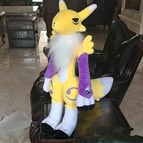 xinyawl Plüschtier Riesige 55 cm Riesen Handgemachte Digital Monster Digimon Tamers Renamon Weiche Plüsch Puppe Spielzeug 20