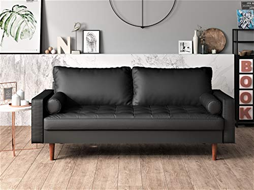 US Pride Furniture , Sofa, Black
