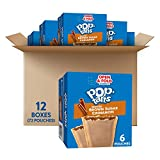 Kellogg's Pop-Tarts, Breakfast Toaster Pastries, Frosted Brown Sugar Cinnamon, 21oz (72 Count)