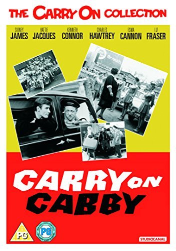 Carry On Cabby [DVD] [2017]