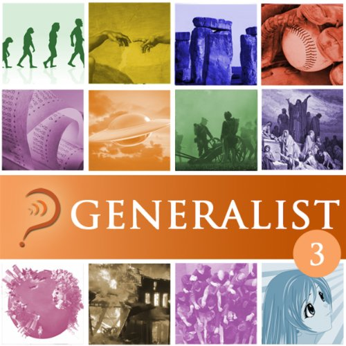 Generalist audiobook cover art