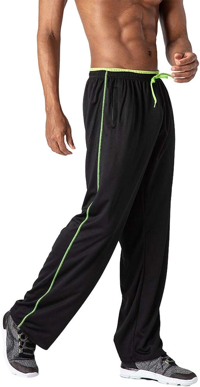 TOTNMC Men's Lightweight Workout Sweatpants OFFicial Atlanta Mall store Athletic Open Bottom
