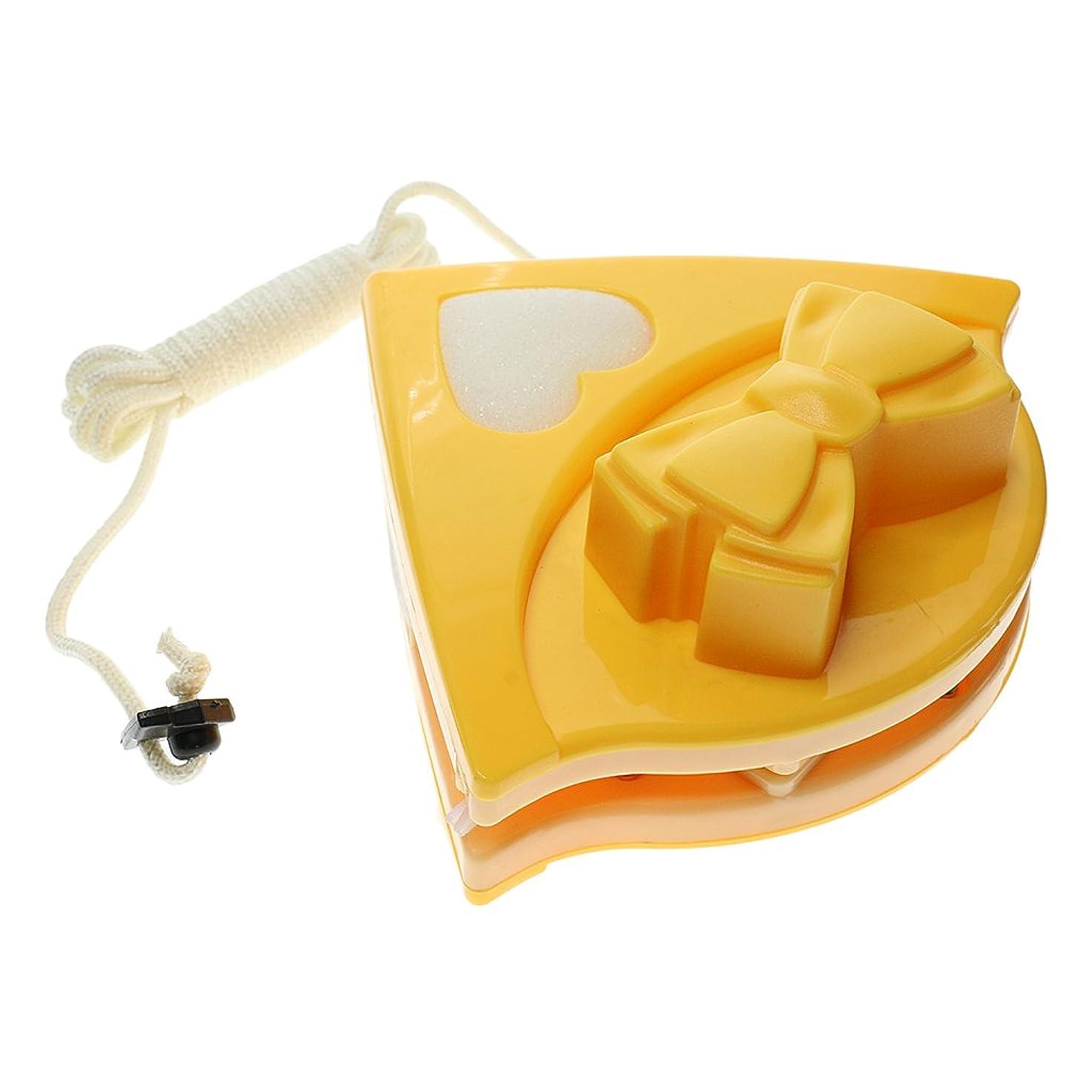 熱帯の置換誰PETSOLA ガラスワイパー クリーニングワイパー ウィンドウクリーナー ダブルサイド 便利性 掃除用品 鏡 窓に最適 - 黄色#2, 5-12mm