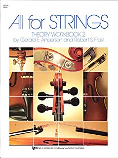 All for Strings Theory Workbook 2 (Viola)