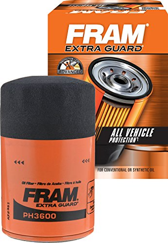 Price comparison product image FRAM PH3600 Extra Guard Passenger Car Spin-On Oil Filter