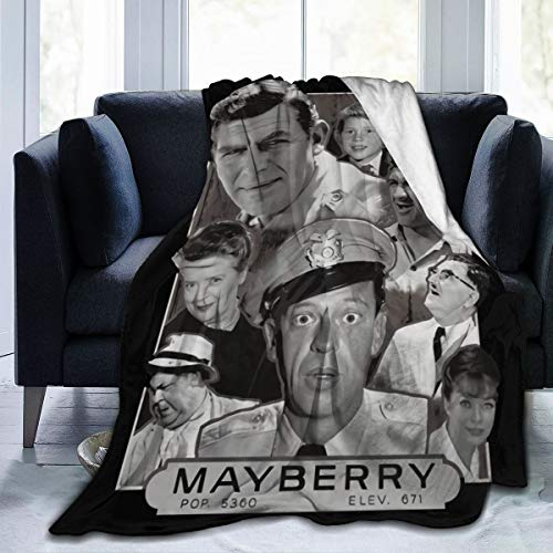 Qwtywqekeertyi Andy Griffith Blanket Bedroom Blanket Microfleece Blanket Comfort Dormitory Warm Blanket Air Conditioner Quilt