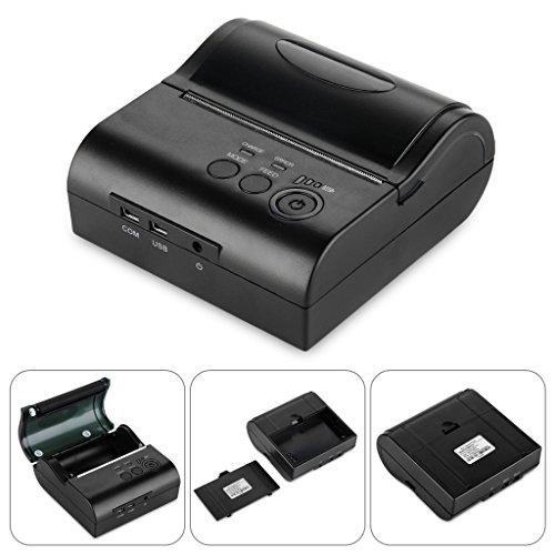 Excelvan - Impresora Recibos inalámbrica Bluetooth