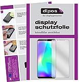 dipos I 6X Schutzfolie klar kompatibel mit Cubot X19 Folie Bildschirmschutzfolie