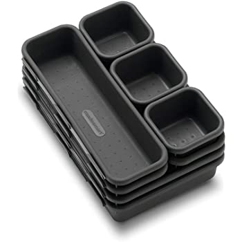 Made Smart Interlocking Storage Bins, 8/pk (Set of 2)