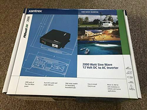 Xantrex 806-1220 PROwatt SW 2000 Inverter - 1800W, True Sine Wave