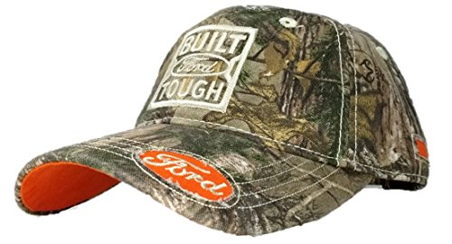 Ford Built Tough Real Tree Baseball Cap, One Size