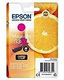 Epson C13T33634010 8.9ml Magenta 650páginas Cartucho de Tinta C13T33634010, Magenta, XP-530, XP-630, XP-635, XP-830, Inyección de Tinta, 8,9 ML, 650 páginas, 1 Pieza(s)
