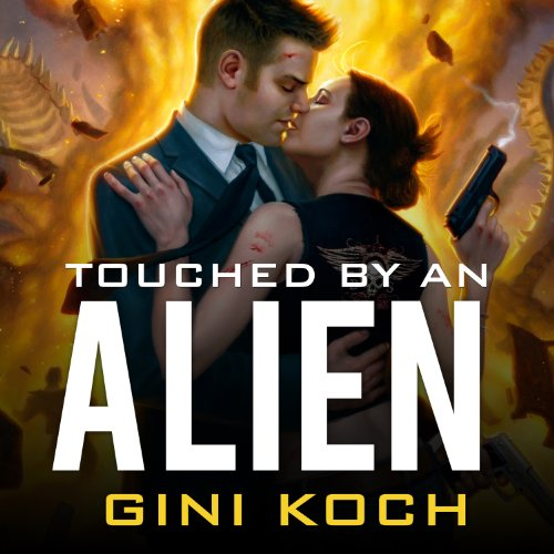 Touched by an Alien audiobook cover art