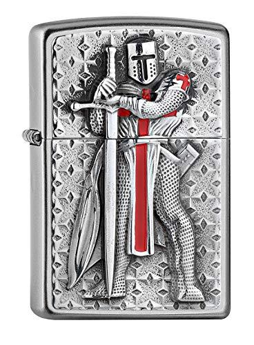 Zippo Feuerzeug Templer II II-200-Zippo Collection 2019-2005918-55,00 €, Silber, One Size