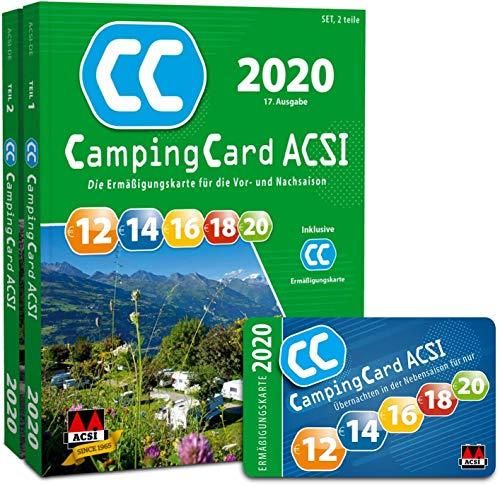 ACSI CampingCard Ermäßigungskarte 2020 für die Vor- und Nachsaison Deutsch - Rabattkarte