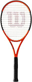 Wilson Burn 100ls Limited Edition Tennis Racquet, Orange/Black