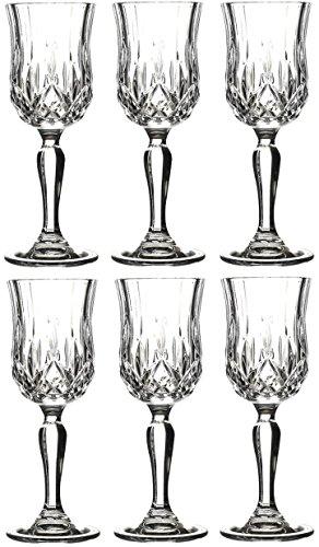 Rcr Juego 6 Copas Opera Licor 6 cl Crystal Glass
