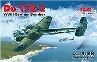 ICM 1/48 ドルニエDo17Z-2 爆撃機 プラモデル