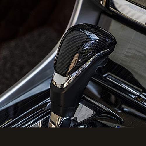 ruihe Carbon Fiber Color Interior Gear Shift Knob Decorator Cover Fit for Honda Accord 2013-2017