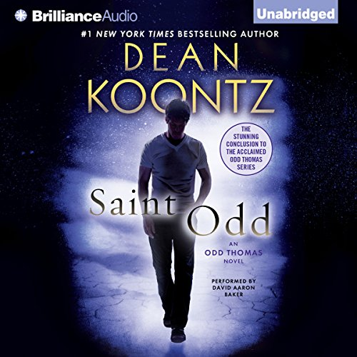 Saint Odd audiobook cover art