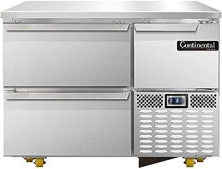 Continental Refrigerator CFA43-U-D Undercounter Freezer Base Worktop Unit, 43