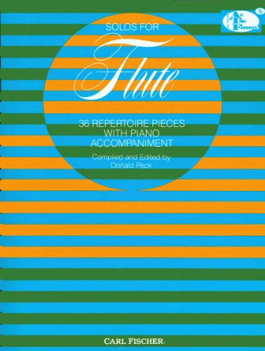 ATF104 - Solos for Flute - 36 Repertoire Pieces with Piano Accompaniment (FLUTE TRAVERSIE)