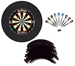 Winmau Blade 5 with 9 McDart Steeldarts and Catchring
