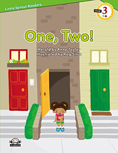e-future Little Sprout Readers レベル3-09 One, Two! CD付 英語教材