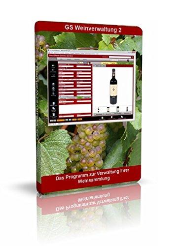 GS Weinverwaltung 2 - Software zur Verwaltung von Wein - Datenbank Programm zur Weinverwaltung