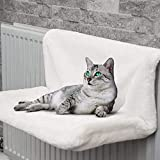 Rainberg® Cat Puppy Pet Dog Radiator Bed Warm Fleece Beds Basket Cradle Hammock | Keeps Pet Warm| Easy to install