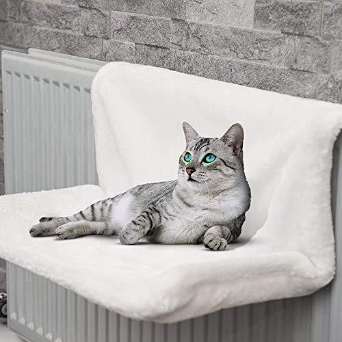 Rainberg® Cat Puppy Pet Dog Radiator Bed Warm Fleece Beds Basket Cradle Hammock   Keeps Pet Warm  Easy to install