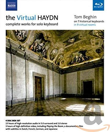 The Virtual Haydn - Sämtliche Werke für Tasteninstrument solo [3 Blu-Ray AUDIO plus 1 Blu-Ray VIDEO] [Reino Unido]
